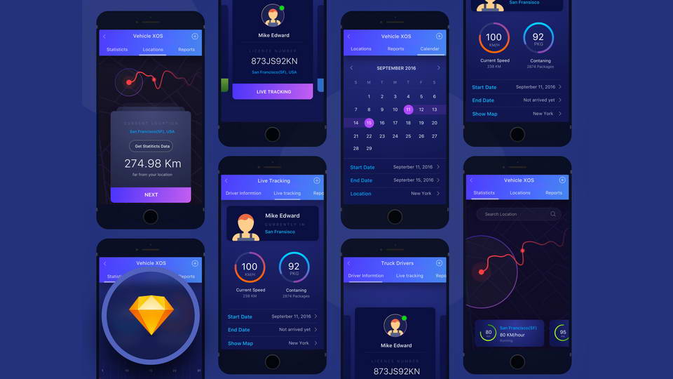 Мобильные приложения для логистики и грузоперевозок