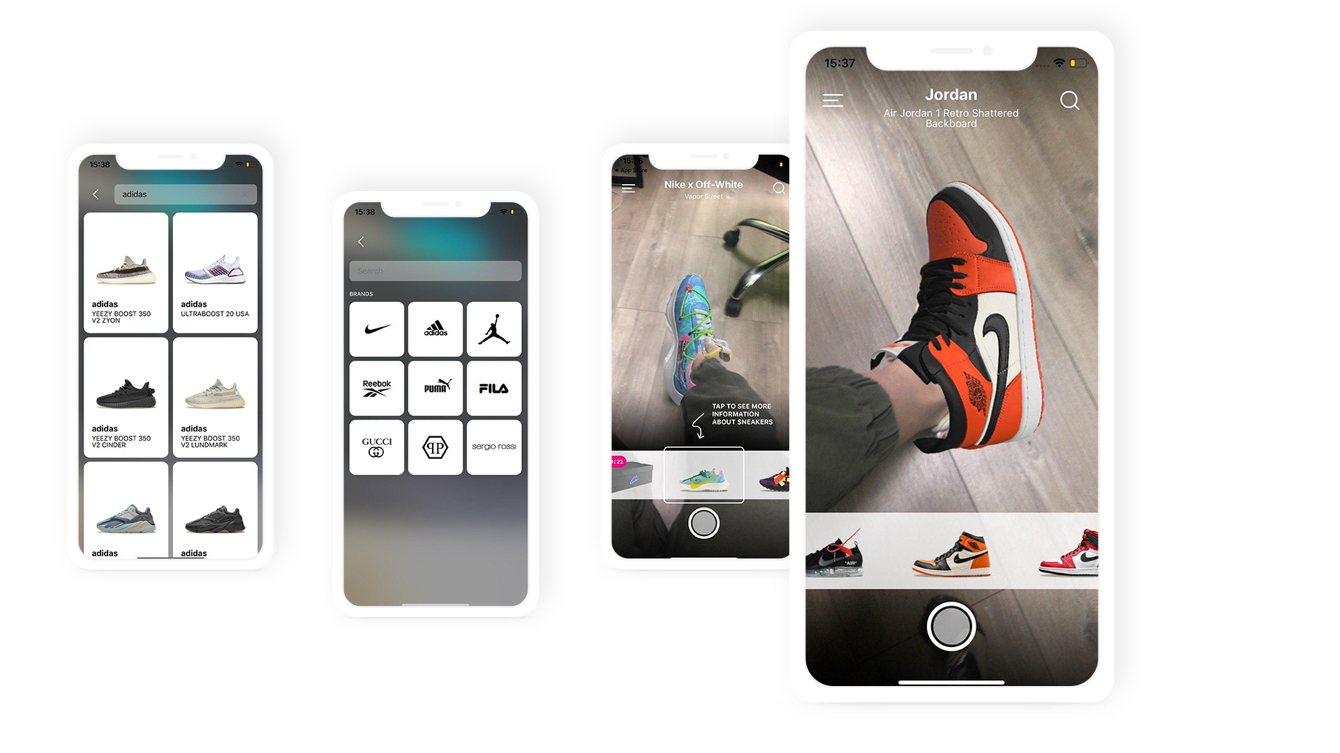 Augmented reality applications for retail