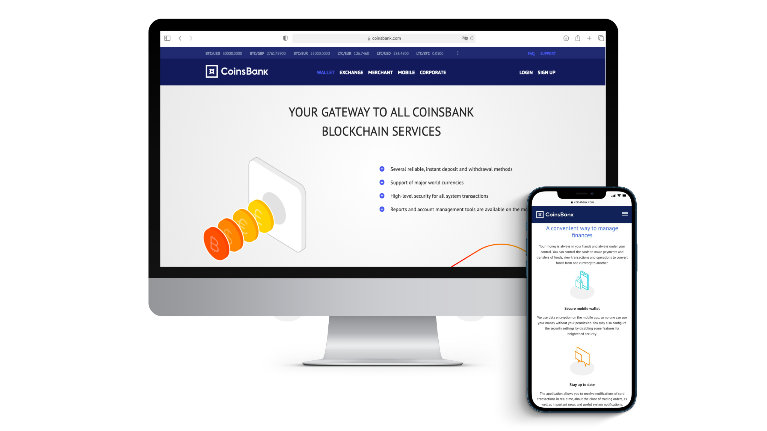 Connecting crypto gateways to accept payments